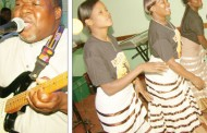Alleluya Band in a free concert