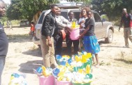 Children in flood-hit areas receive support
