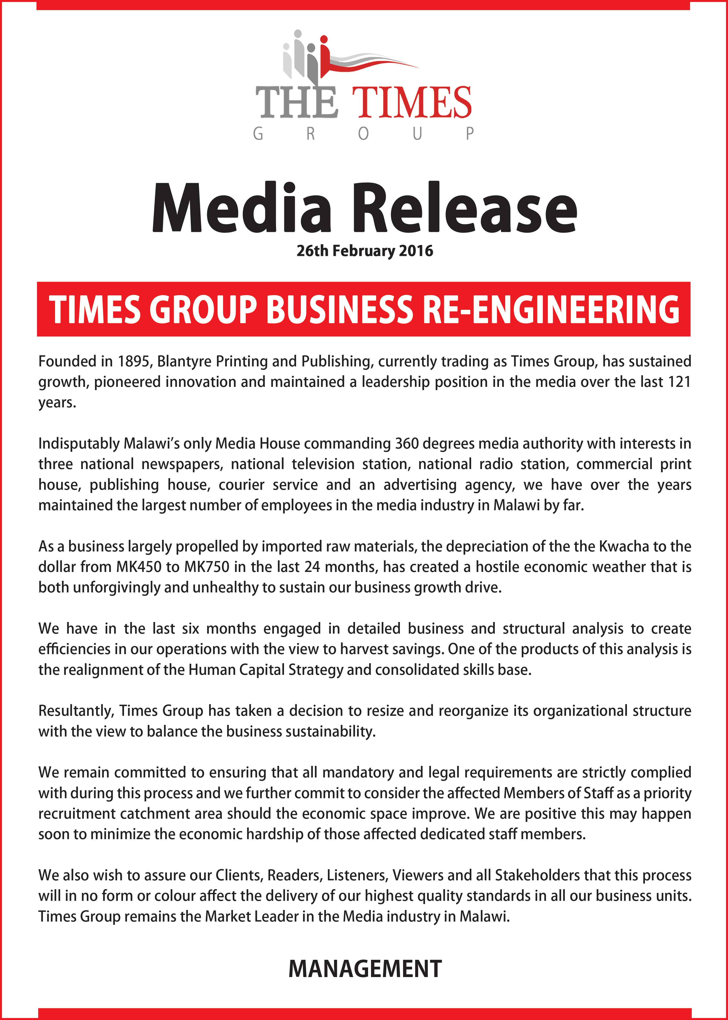The times group times media release altavistaventures Gallery