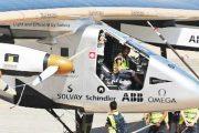 Solar aircraft lands in Cairo