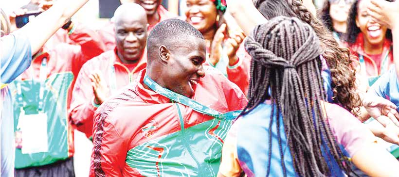 Dancers thrill Malawi Team at Olympics