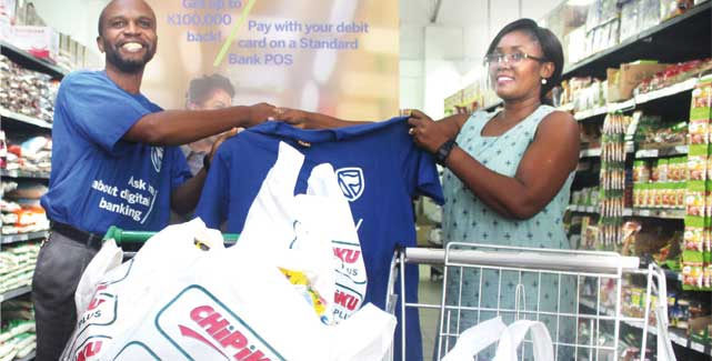 Standard Bank hails customers