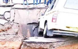 Heavy rains destroy Rumphi- Karonga M1 Road