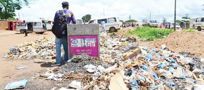 Lilongwe's worst waste management