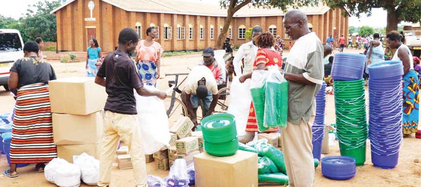 Water Aid donates to Mtandire floods victims