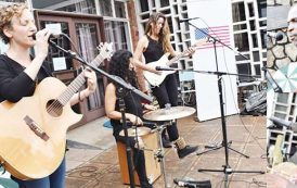 Waliko, Mkanthama share stage with US women band