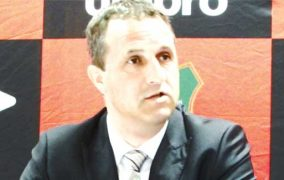 Ronny van Geneugden reacts to Cosafa Cup draw