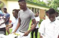Be Forward Wanderers players feast with Nali