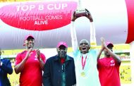 Silver Strikers in 'Top 8' Airtel Party