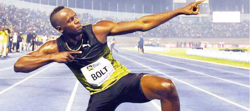 Usain Bolt bids farewell