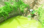 Sewage-water mixture in Mzuzu