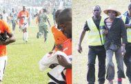Teargas, intruder, no ball-boy at Chiromoni Stadium