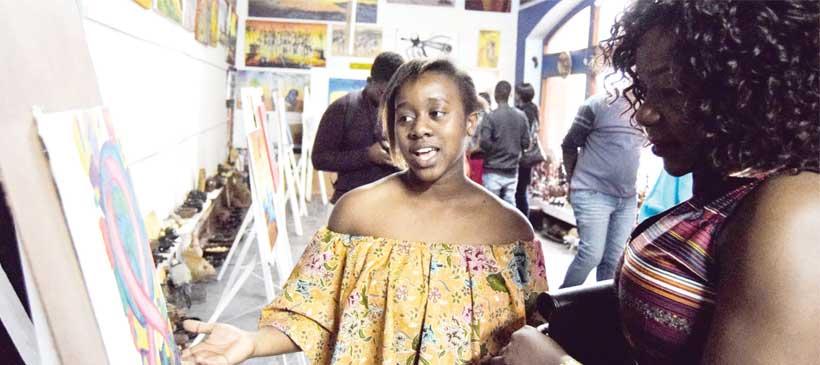 Lusako Sikwese glitters
