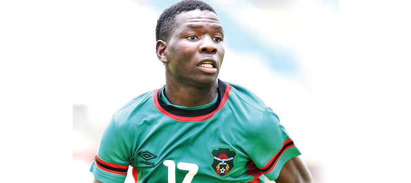 Abel Mwakilama out of Swaziland game