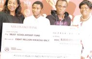 New Finance Bank rescues two Must students