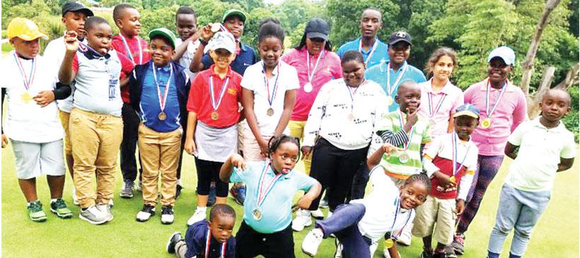 Junior golf attracts 56 participants