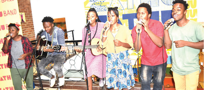 Nyamalikiti in Zathu Band's debut album