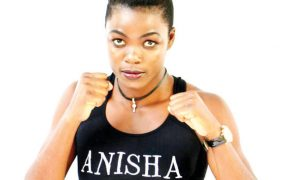 Anisha Bashir fourth on boxrec.com