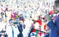 Lazarus Chakwera says no to intimidation