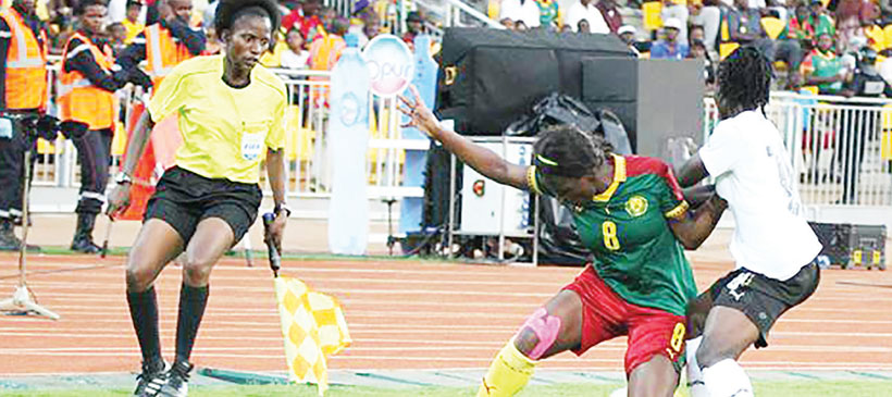 Referee Kwimbira-Nzika makes World Cup grade