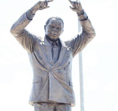 Sculptor defends Bingu statue
