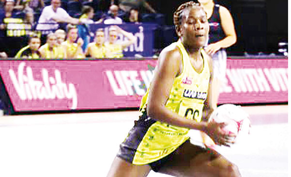 Joyce Mvula nominated player of season