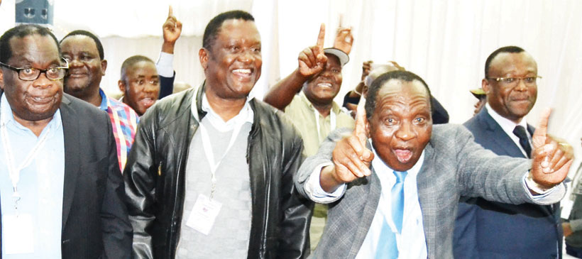 Peter Mutharika re-elected