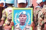 UN honours fallen Malawian soldier