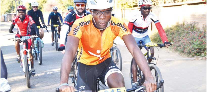 Missi Kathumba dominates Winter Bike Series