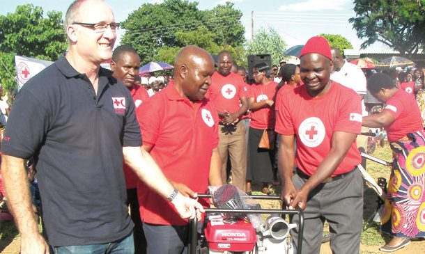 Red Cross hands over K210 million programme