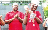 Raphael Kasambara's son wins World Cup contest