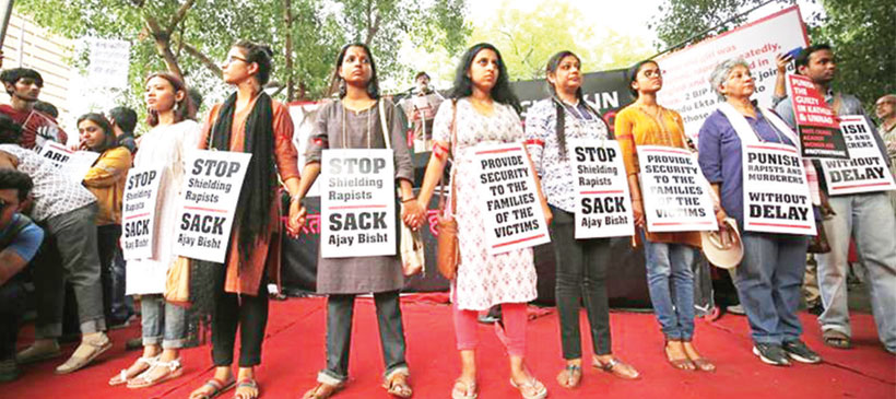 India adopts death penalty for rape of girls under 12