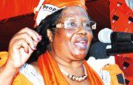 Joyce Banda sounds SOS
