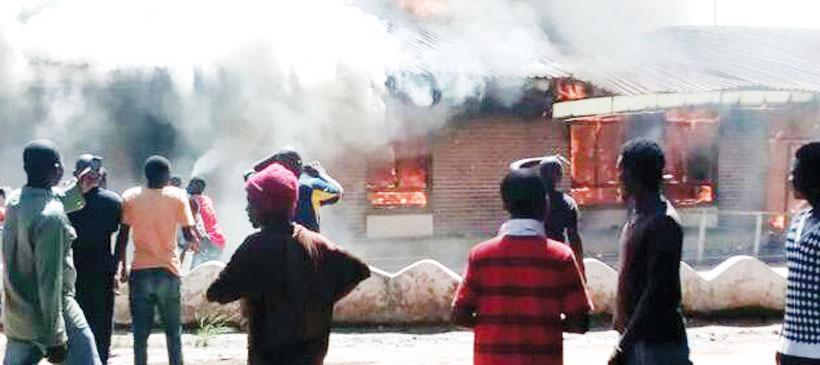 Fire guts part of Mangochi Hospital