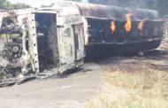 One dies, 10 suffer serious burns in petrol fire