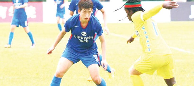 Tabitha Chawinga opens scoring account