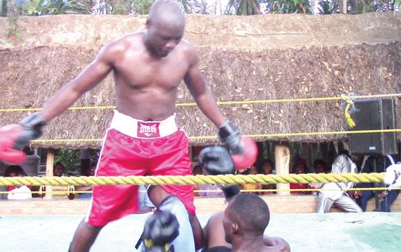 Felix Mwamaso wins bout