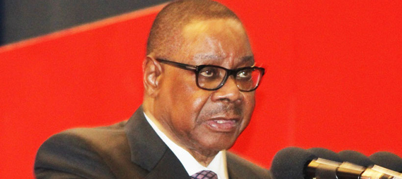 Don't be partisan, Peter Mutharika tells Church