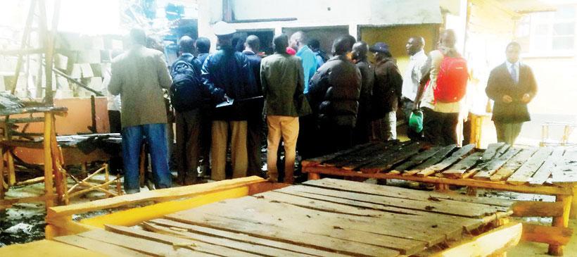 Fire guts Zomba Flea Market