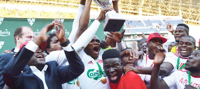 Carlsberg Cup re-launch Friday