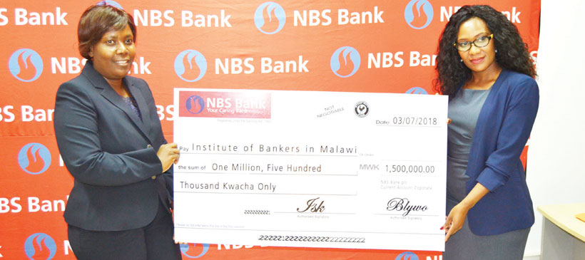 NBS Bank donates to bankers, auditors