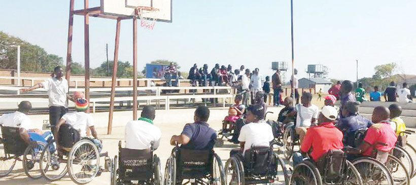 Wheelchair basketballers call for support