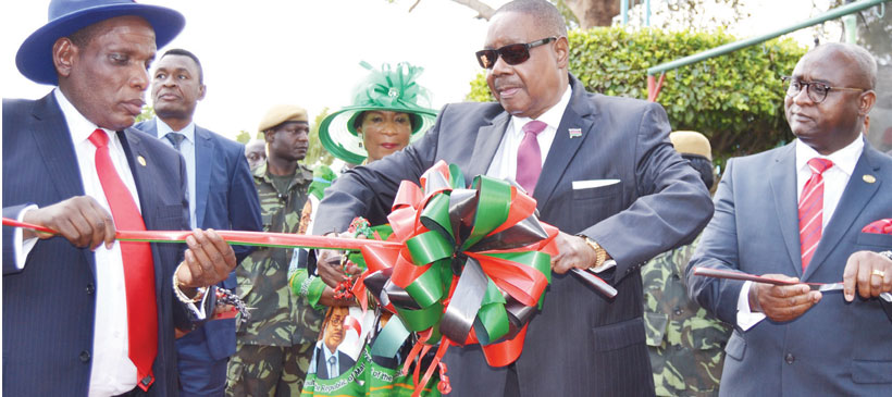 Politics delaying development— Peter Mutharika