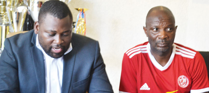 Kallisto Pasuwa signs short-term deal