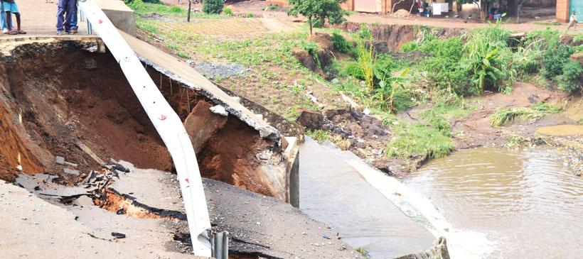 Rains wreak havoc in Lilongwe