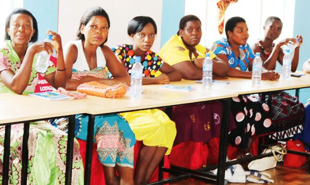 Female aspirants smile at handouts ban