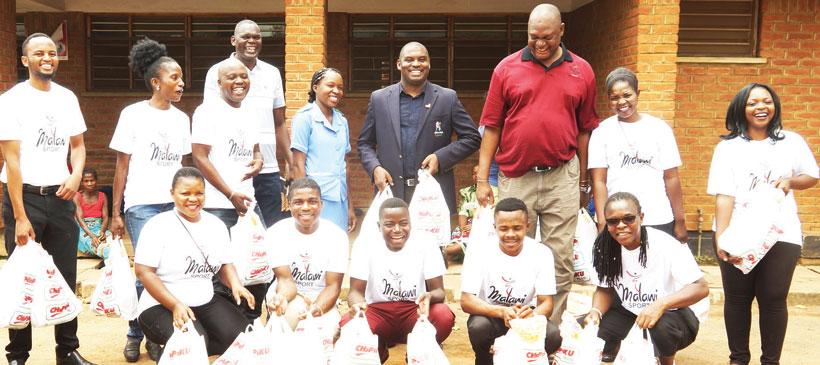 Bernard Kwimbira, Sports Council go for charity