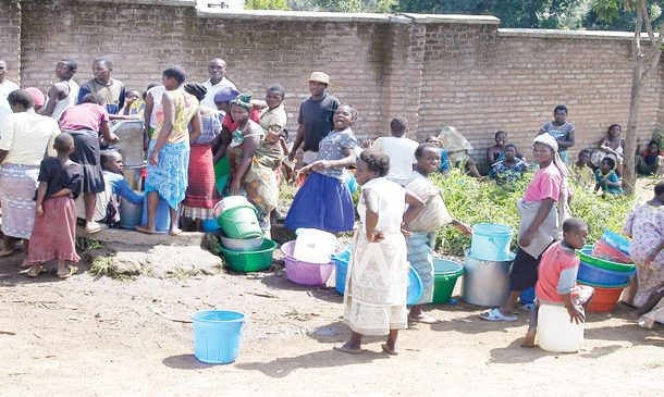 Access to clean water a human right